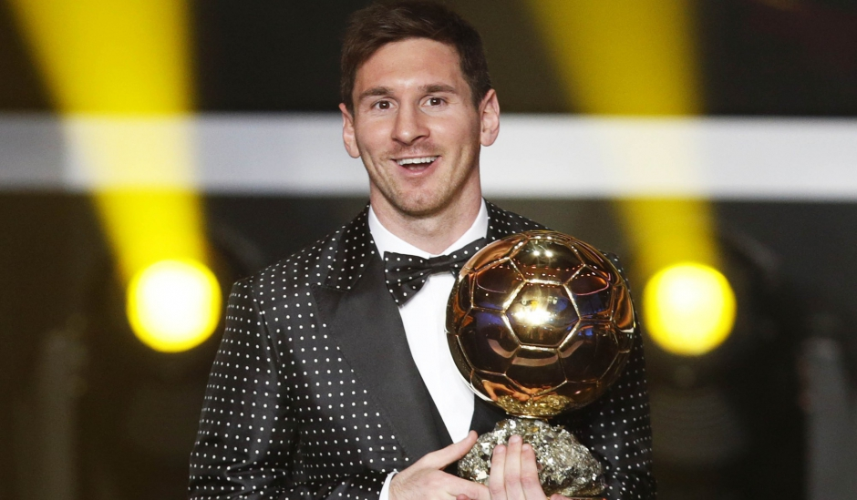 Messi, le collectionneur de Ballons d'Or