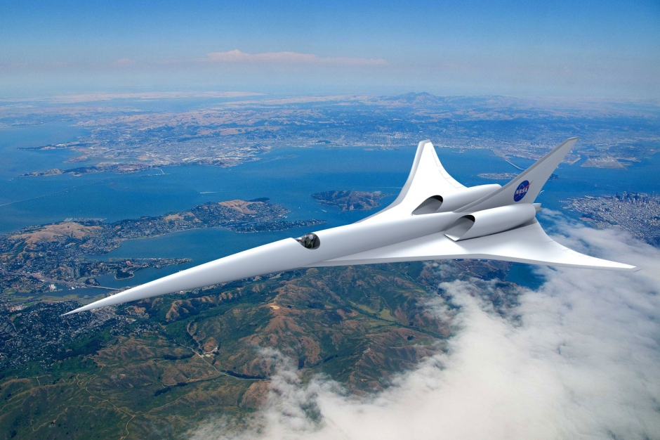 le grand fr re du concorde la nasa va travailler sur un avion supersonique. Black Bedroom Furniture Sets. Home Design Ideas