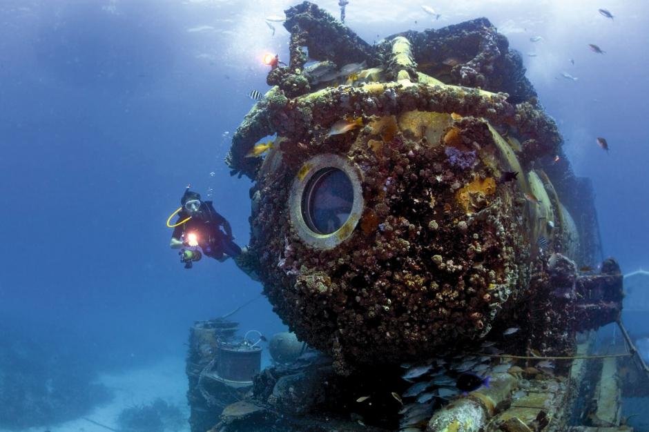 Aquarius: le laboratoire sous marin