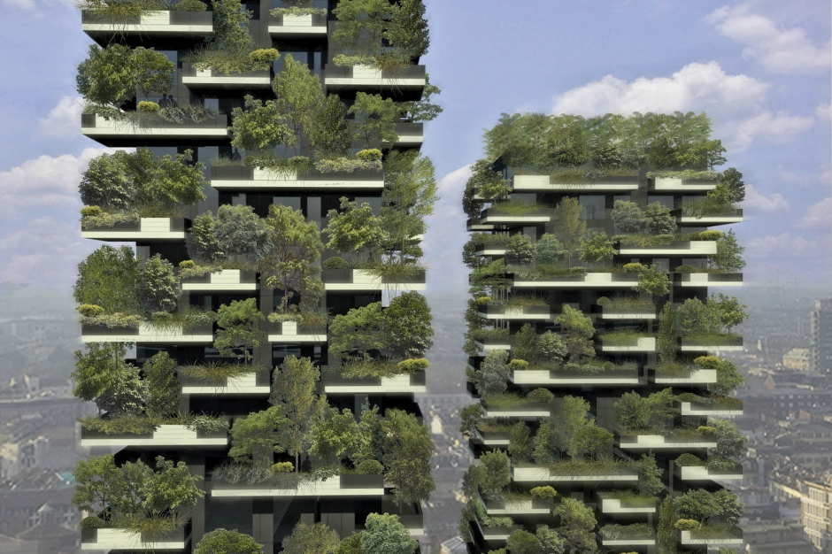 """Le premier """"immeuble-forêt"""" du monde"""