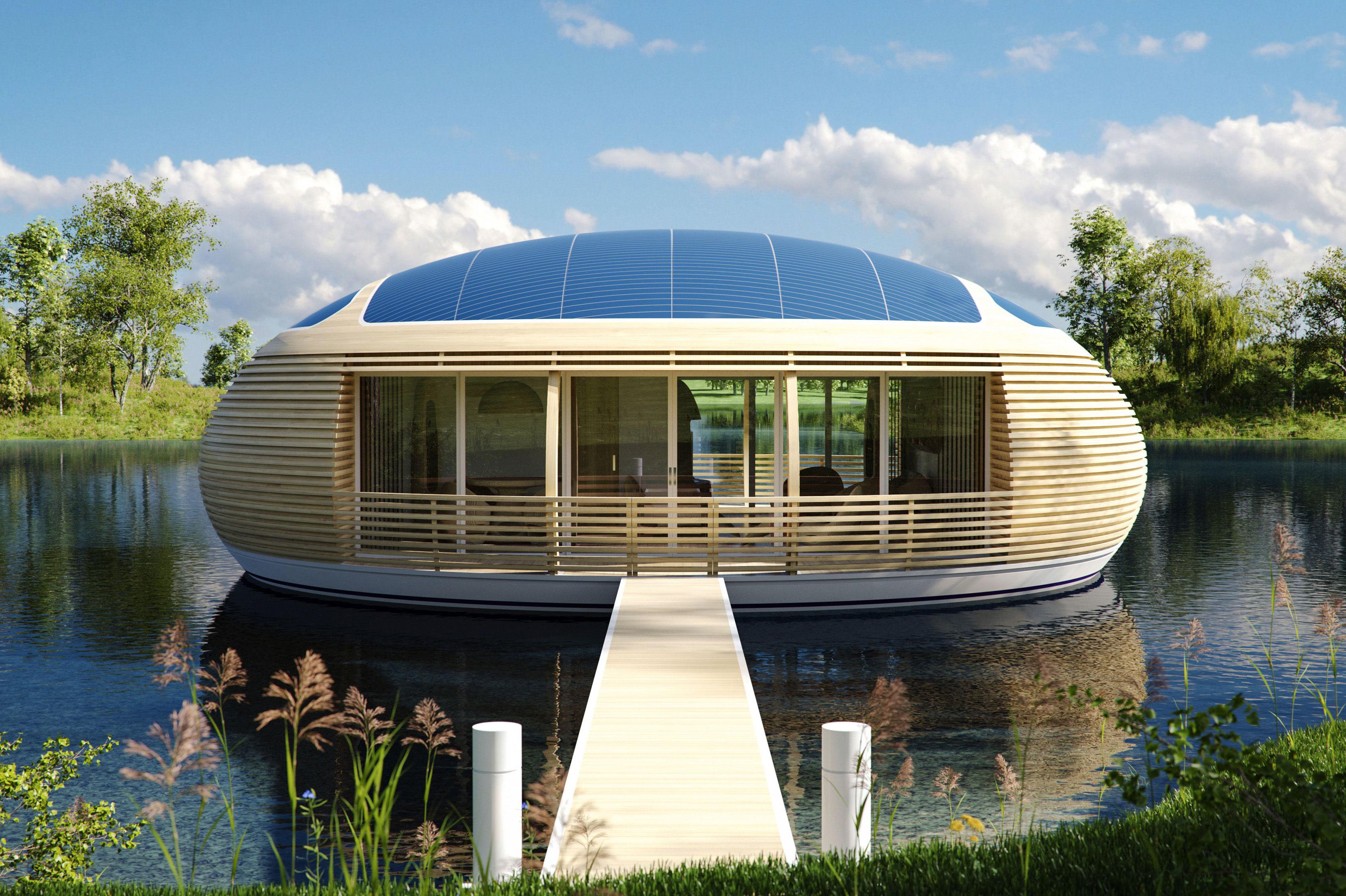 Maison for Maison flottante