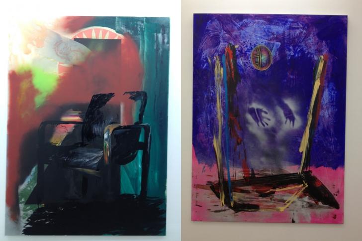 Axel Pahlavi à la galerie Eva Hober : Royal talent