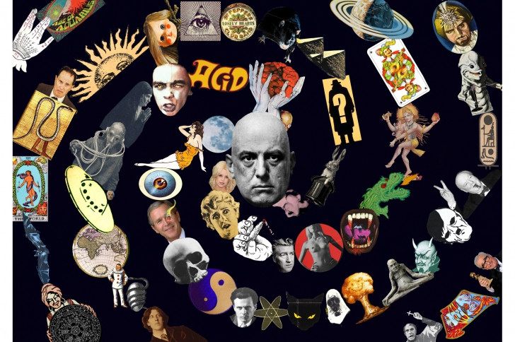 Aleister Crowley, soleil noir de la galaxie Magick