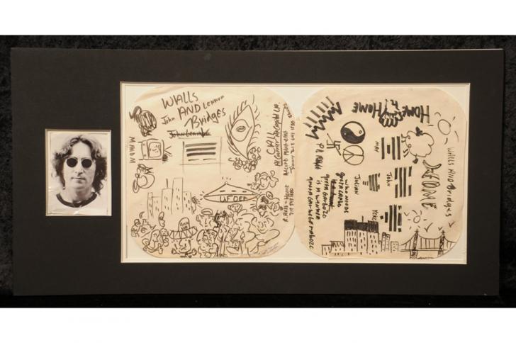 L'ovni de John Lennon vendu aux enchères