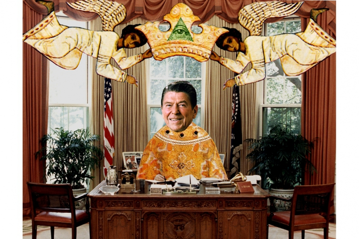 Le maître occulte de Ronald Reagan