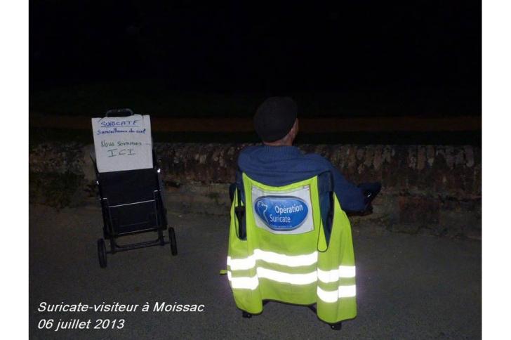 """Opération Suricate: """"une boule blanche tournoyante"""" a traversé le nord de la France"""