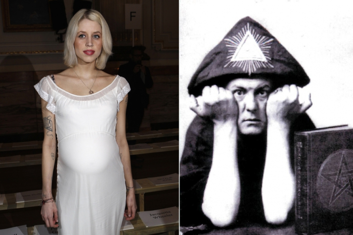 Peaches Geldof et Aleister Crowley. Le mage et la it girl