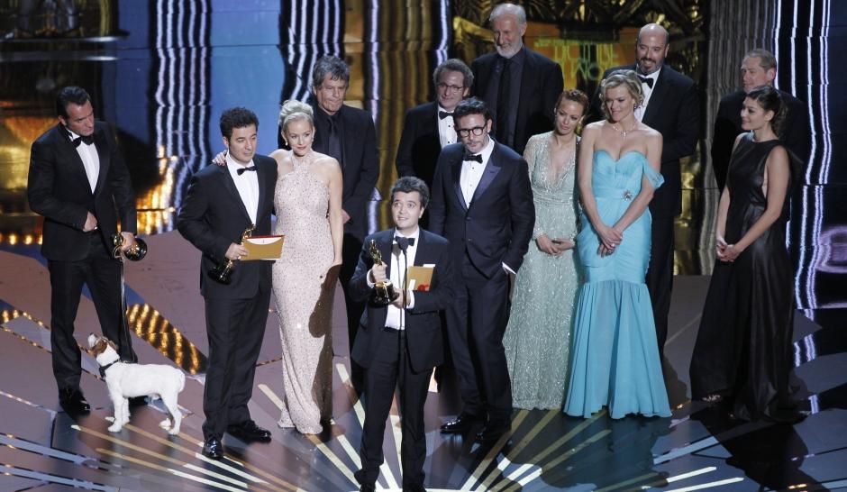 """Oscars 2012. Chapeau """"The Artist"""""""