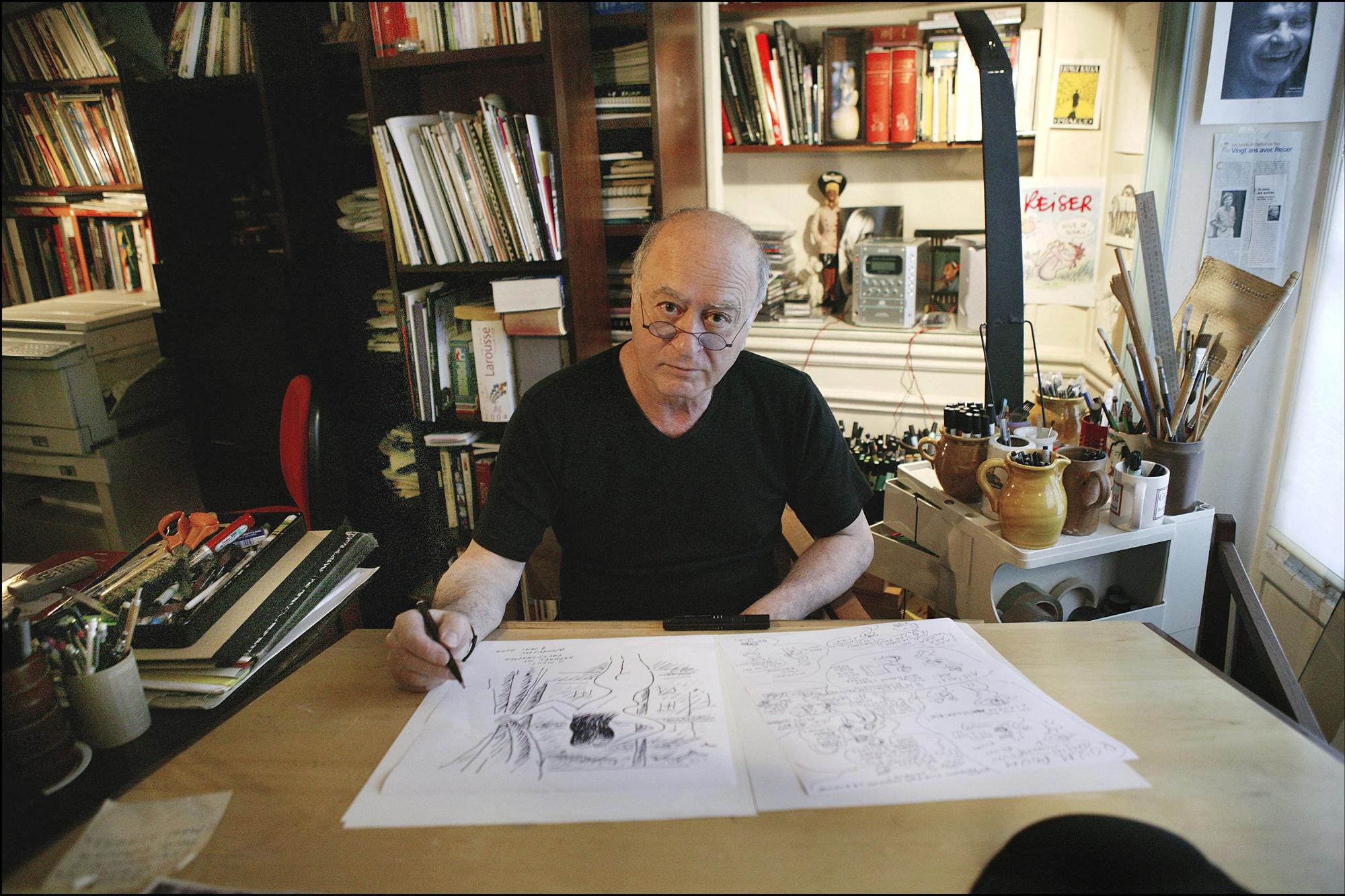 hommage en images georges wolinski un ami nous a quitt s. Black Bedroom Furniture Sets. Home Design Ideas