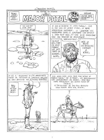 Major Fatal, Les Humanoïdes Associés, juin 1979