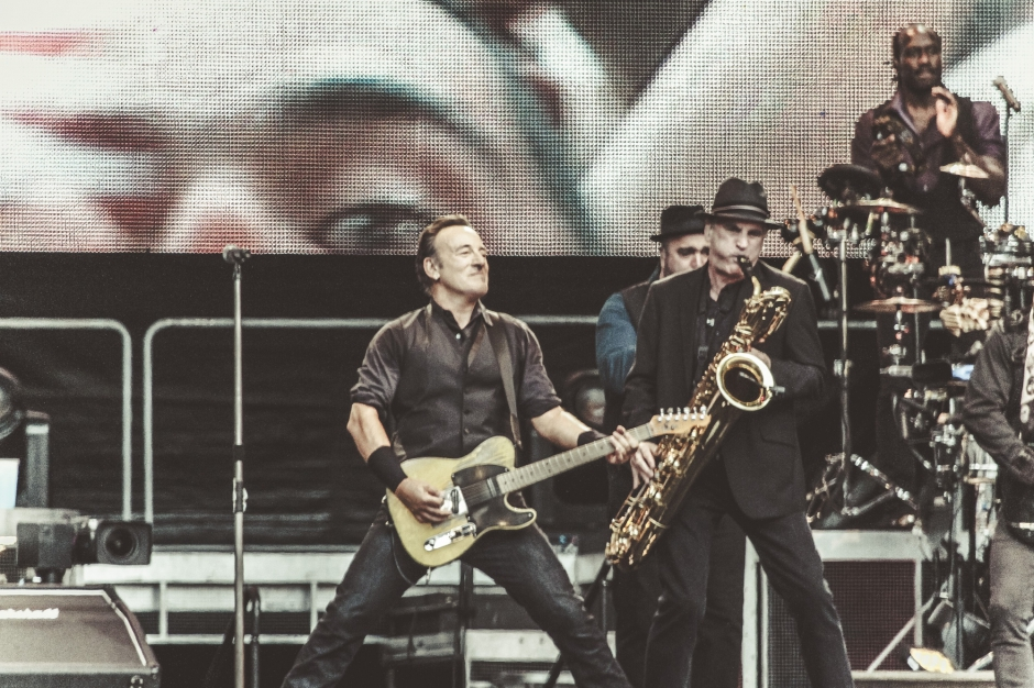 Hier soir à Paris… Bruce Springsteen & the E-Street Band