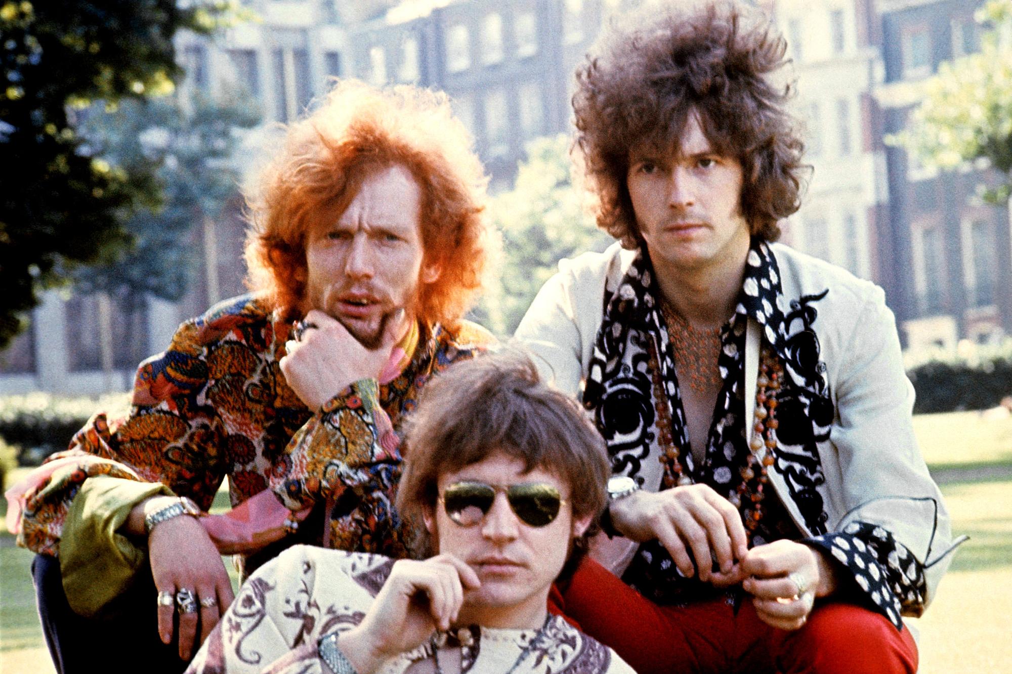 Jack Bruce Ginger Baker Eric Clapton Cream