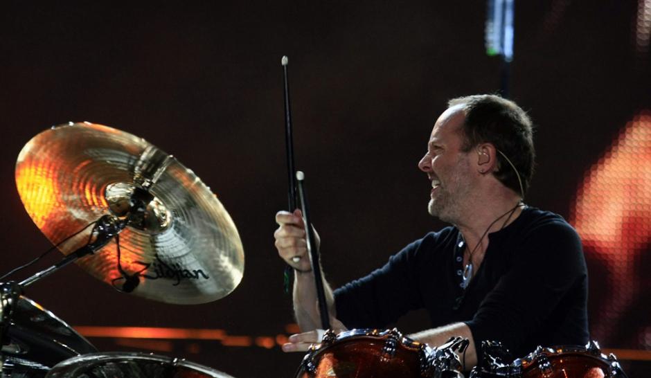 Le batteur de Metallica repart au combat