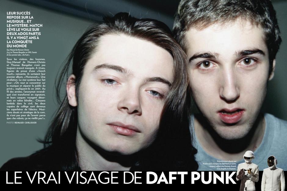 Le vrai visage de Daft Punk