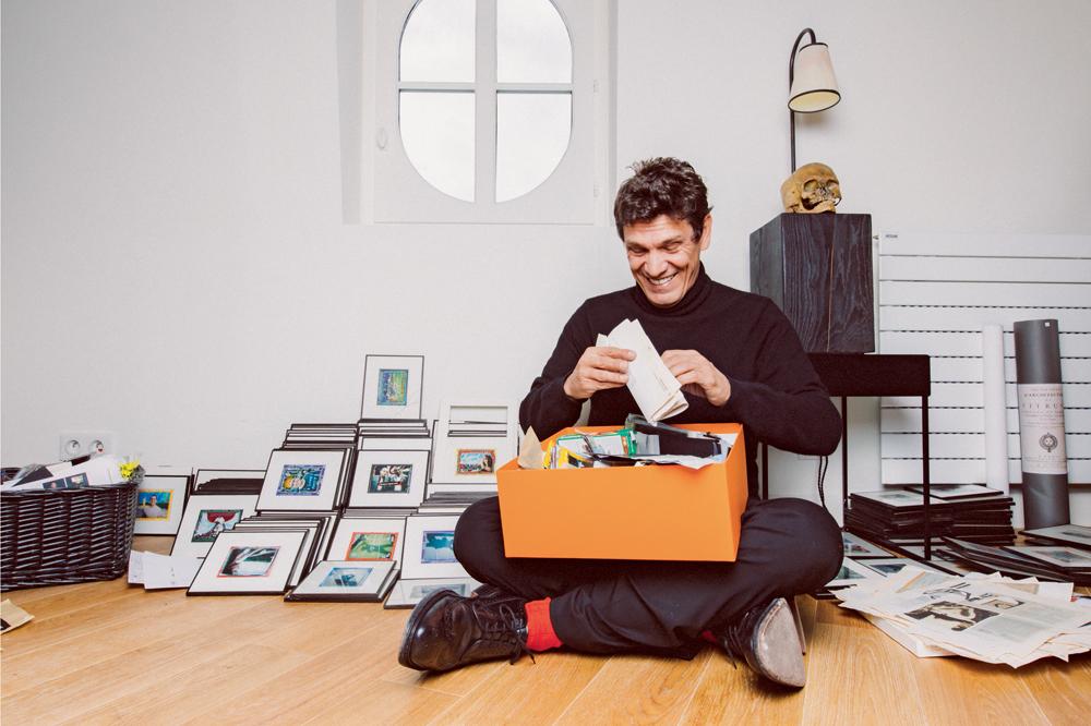 l 39 homme qui ment marc lavoine photos d 39 enfance. Black Bedroom Furniture Sets. Home Design Ideas
