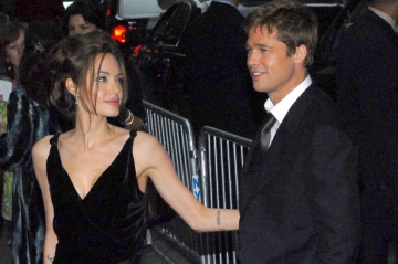 Brad Pitt et Angelina Jolie réunis pour les enfants