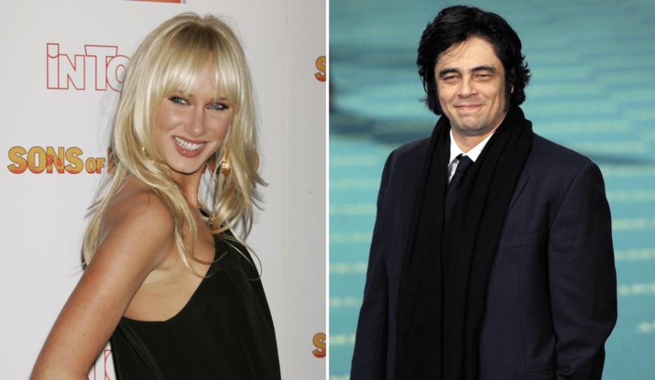 Benicio Del Toro couple