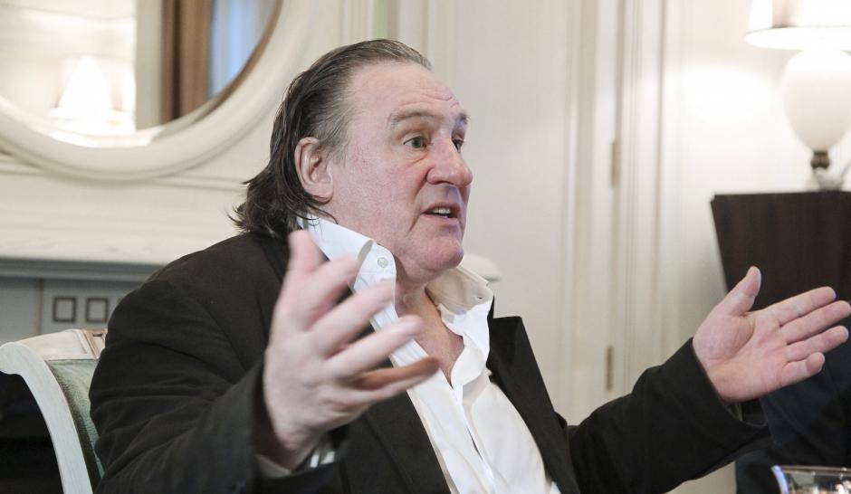 """Depardieu : """"Je suis Français"""""""