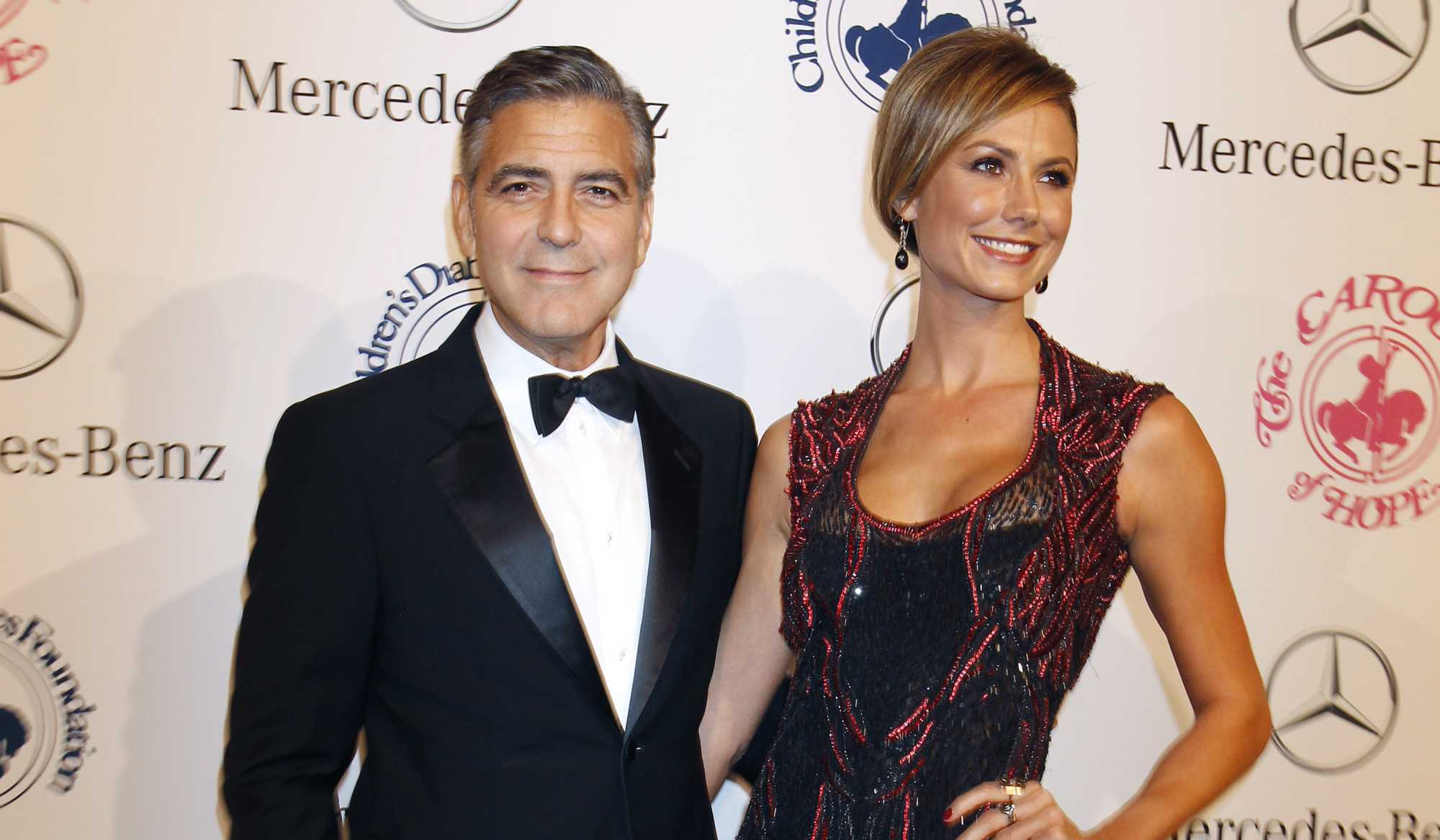Photo of George Clooney & his  Sister  Adelia Clooney