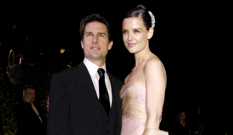 Katie Holmes et Tom Cruise. The end