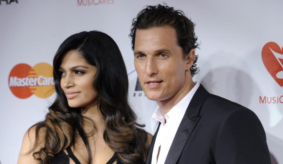 """Matthew McConaughey. Le """"Playboy"""" est marié"""