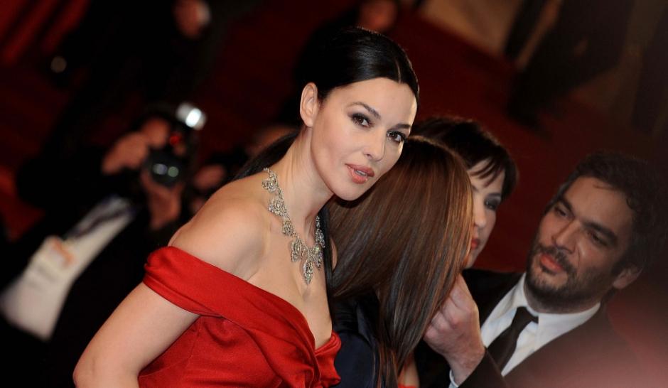 Monica Bellucci La mamma e bella