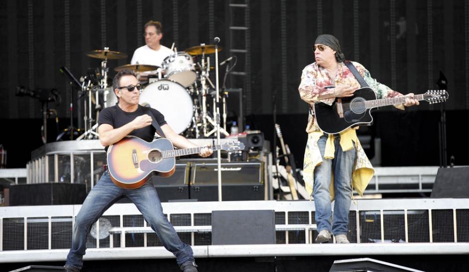 Bruce Springsteen passe l'été au show