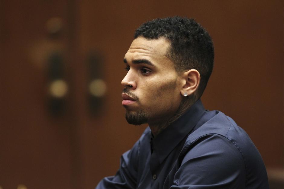 Chris Brown derrière les barreaux