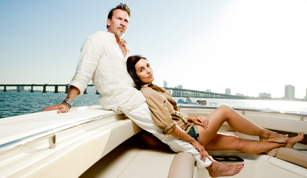 florent pagny et azucena et maintenant miami. Black Bedroom Furniture Sets. Home Design Ideas