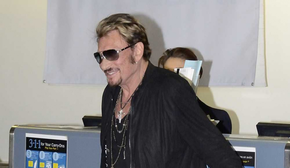 Johnny Hallyday. Direction Los Angeles