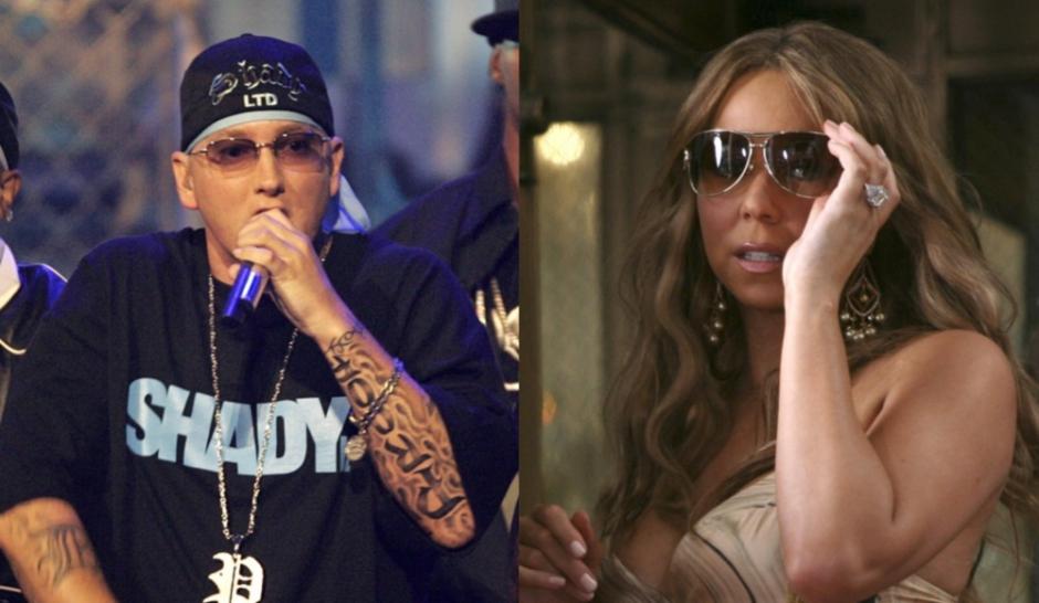 Mariah Carey-Eminem : Le duel мэрайя кэри