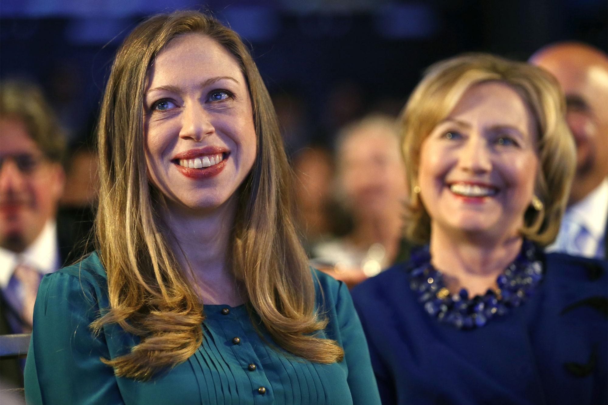 Chelsea Clinton robe de mariée