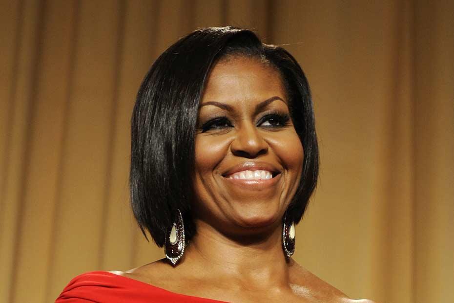 Michelle Obama, inscrite sur Pinterest