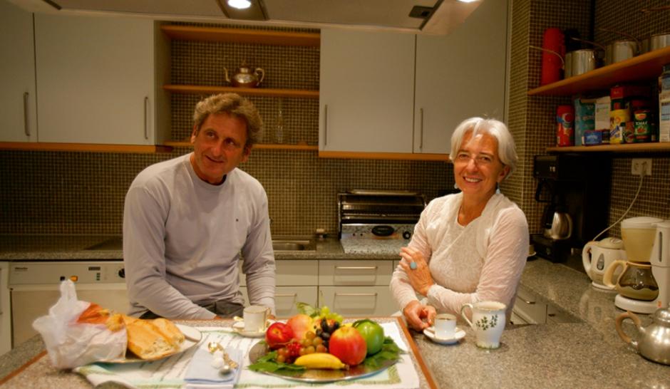 Xavier Giocanti, le mari de... Christine Lagarde