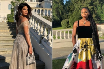 Serena Williams et Priyanka Chopra sublimes à la soirée de Meghan et Harry