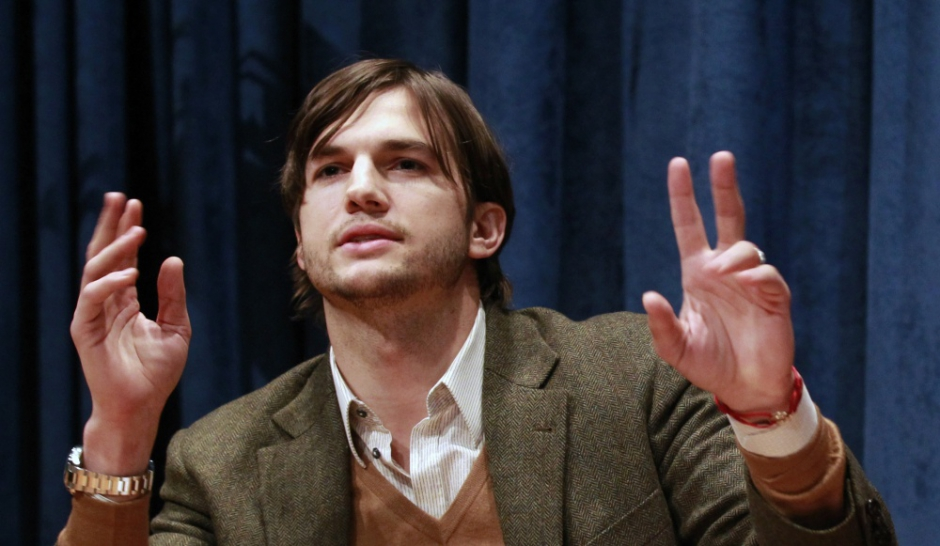 Ashton Kutcher va s'envoyer en l'air