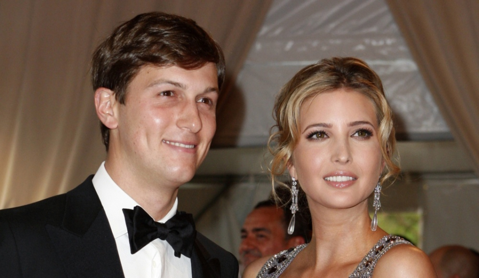 Ivanka Trump et Jared Kushner, jeunes parents. ©REUTERS/Jessica ...