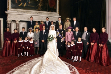 Au Mariage De Maxima Zorreguieta Et Willem Alexander Des Pays Bas Le 2 Fevrier 2002 19