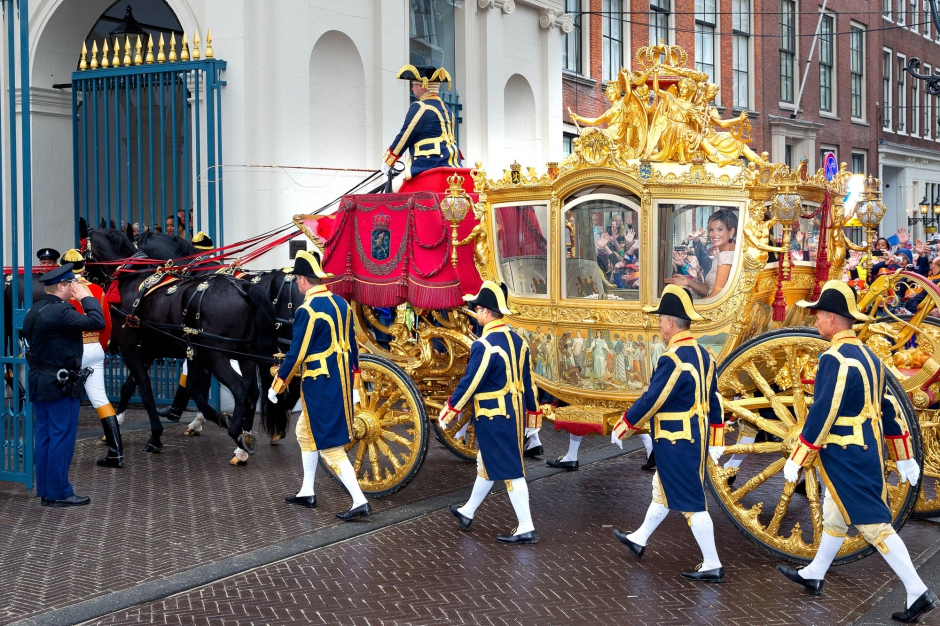 Le Carrosse D Or De La Famille Royale Des Pays Bas