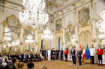Maxima Et Willem Alexander Des Pays Bas A� Rome, Le 20 Juin 2017 25