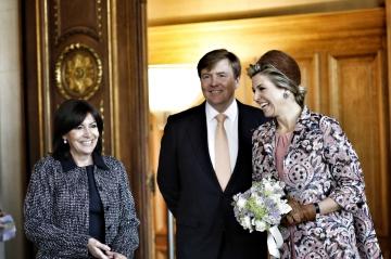 Maxima et Willem-Alexander, Paris est une fête