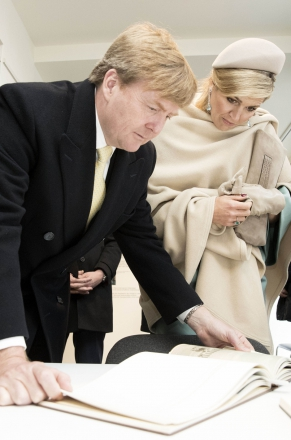 Maxima Et Willem Alexander Des Pays Bas A� Wittenberg 9