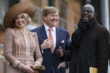 Vidéo - Maxima, Willem-Alexander et Thuram : liberté, égalité, gaieté