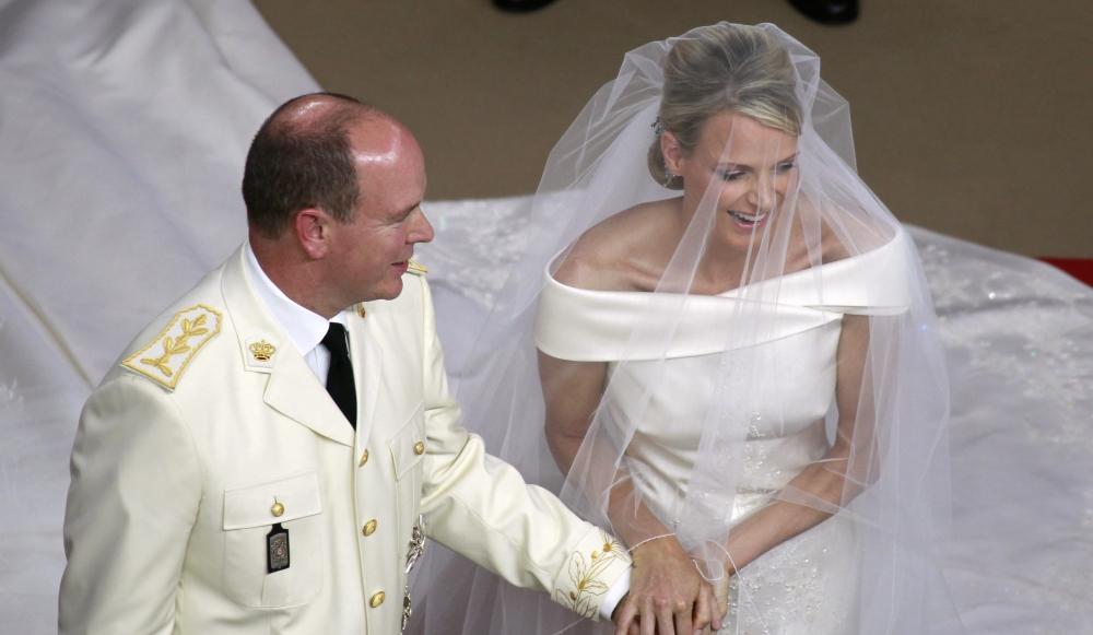 Grand Jour Mother Of The Bride Outfits And: Albert Et Charlene, Complices Au Grand Jour
