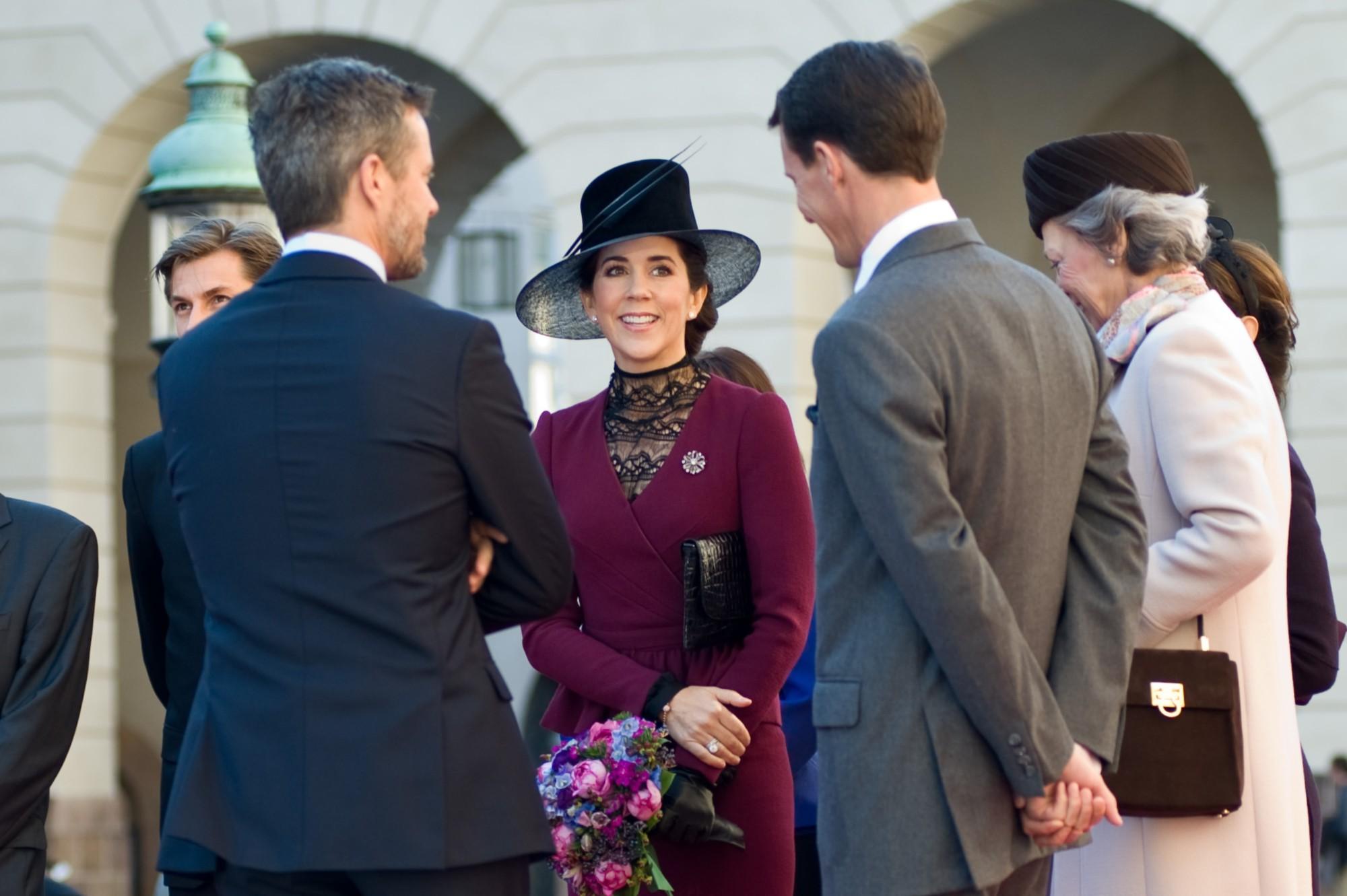 Famille Royale Du Danemark Marie Mary Princesses De