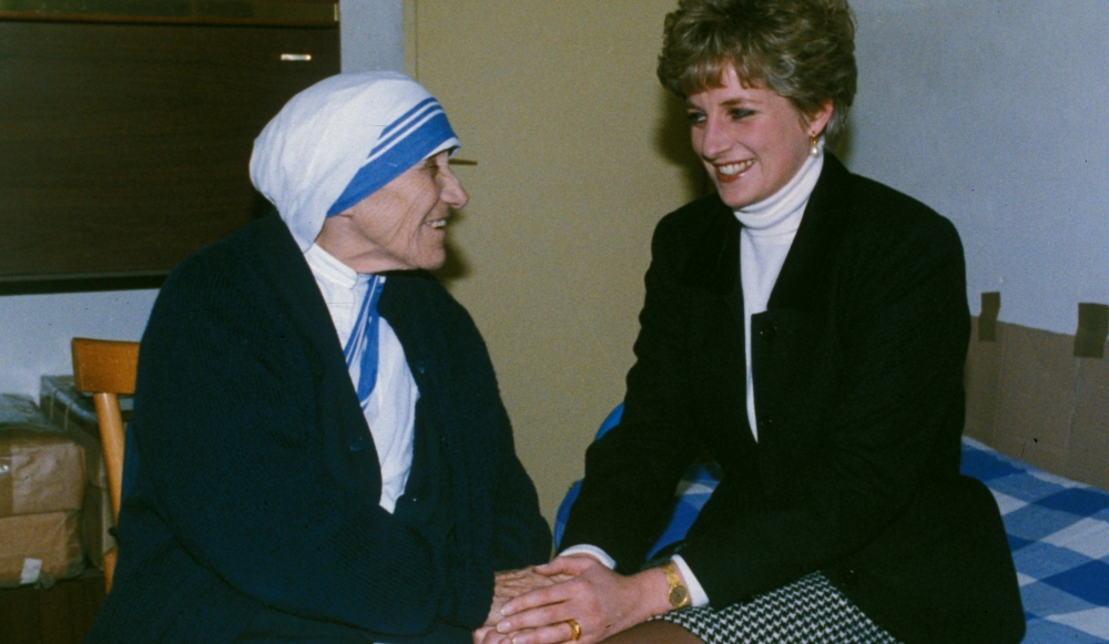 "Image result for ""diana"" AND ""mother teresa"""