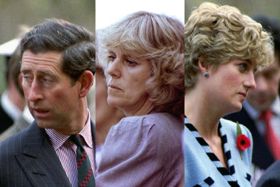 Charles et Camilla, une ?love story? (2/4) - Charles, Camilla et Diana... remue-menage a trois...