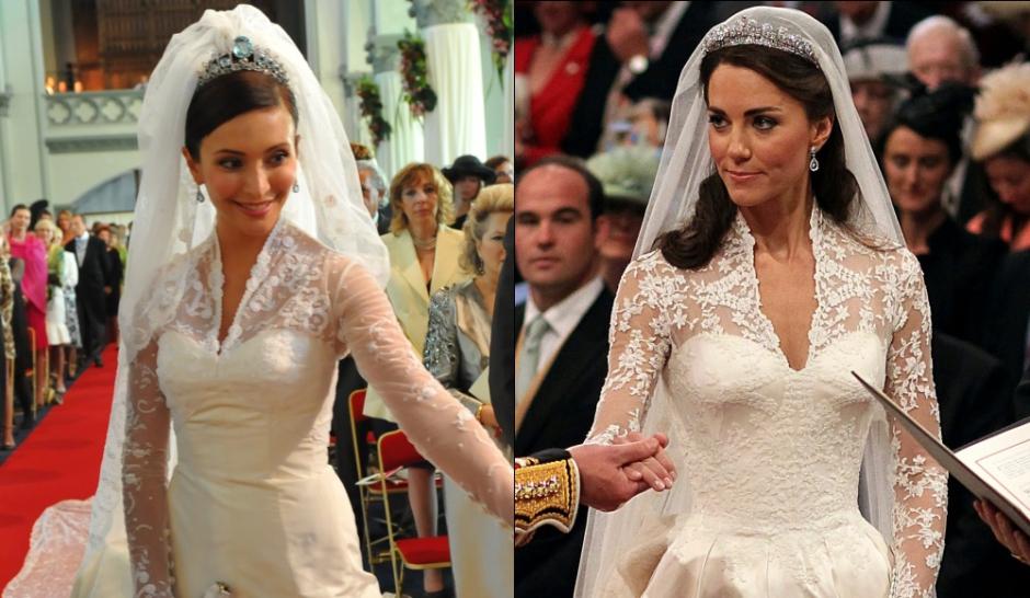 kate middleton une robe deux princesses. Black Bedroom Furniture Sets. Home Design Ideas