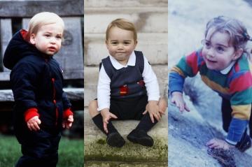Kate Middleton ou le prince William ? - Baby George ressemble-t-il plus à son père ou à sa mère ?