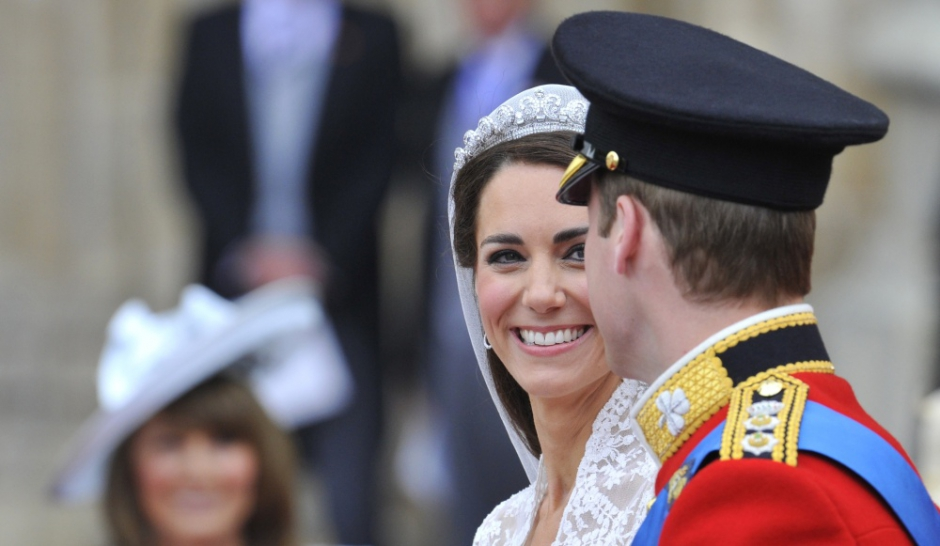 Les plus belles photos du mariage de Kate Middleton et William